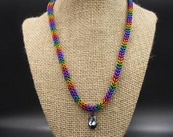 Rainbow Persian Necklace