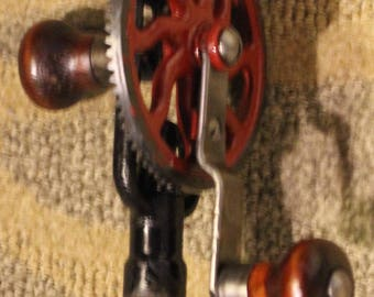 Vintage Early-to-Mid 20th Century Craftsman Egg Beater Hand Drill