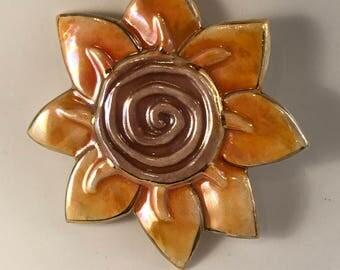 Cheerful Sunflower Pin
