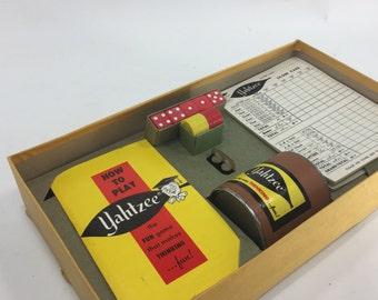 Vintage Yahtzee Game, Vintage Game Night, Games,