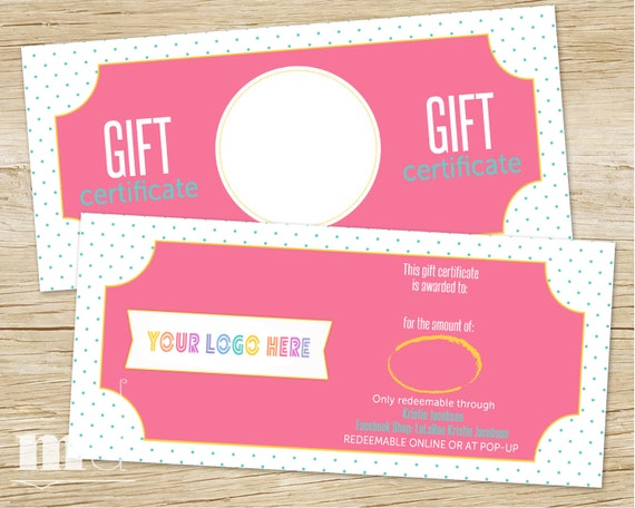 gift certificate for small business gift card lula