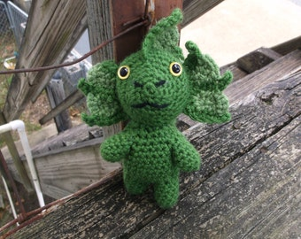 mutant toy, crochet mutant, mutant amigurumi, monster, ready to ship