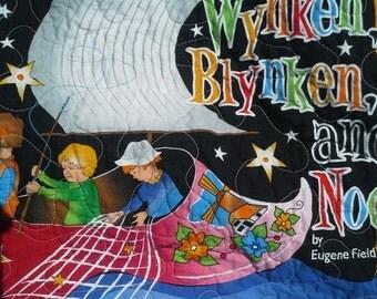 SALE Crib Toddler Bedding Nursery Rhyme Theme Nursery Bedding Gender Neutral Bright Colors Nautical Theme New Baby Gift Playmat Childrens Wa