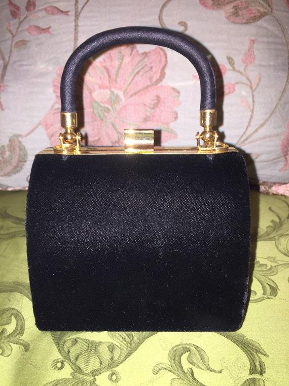 Vintage Small Velvet Evening Bag