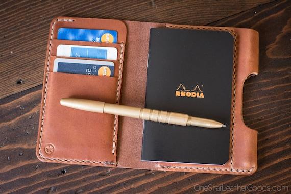 "BUILD-YOUR-OWN - ""Park Sloper Medium"" Notebook wallet"