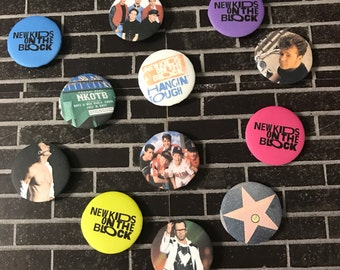 New Kids on the Block - NKOTB | Button/Pinback/Badge