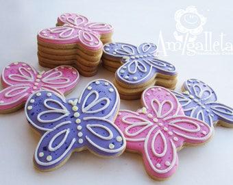 Butterfly Cookies - 1 dozen