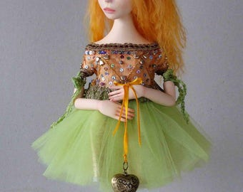 "Art doll, OOAK "" The Mannequin"""