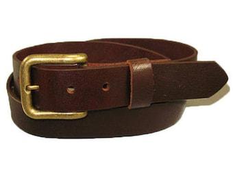 Full Grain Leather Belts