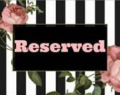 Reserved Listing for Nyamadiseraphina
