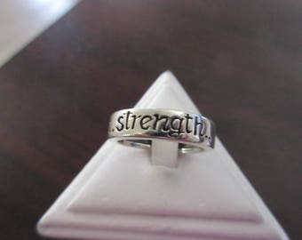 Sterling 925 Strength Band Ring