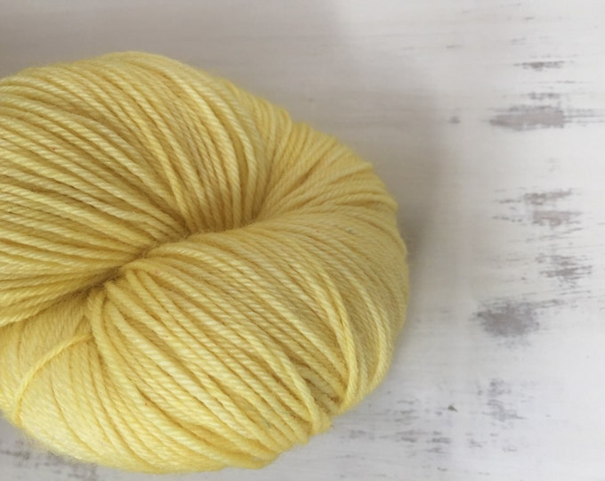 Citron '100grams Superwash  4 ply yarn  - in various bases