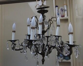 Chrystal Spanish chandelier