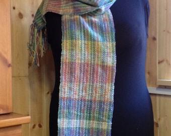 Hand-woven Multi Coloured Scarf