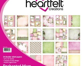 Enchanted Mum Paper Collection 12x12 by Heartfelt Creations HCDP1-258
