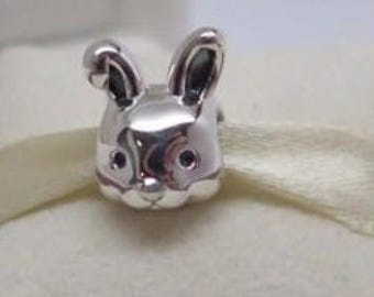 Pandora Sterling Silver  Remarkable Rabbit Charm