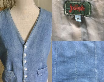Vintage Denim Vest ... Free Shipping ... 10% Off Coupon SAVE10