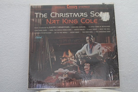 Nat King Cole The Christmas Song vinyl record