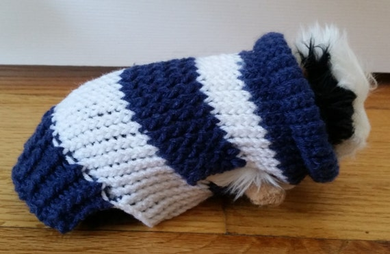 Guinea Pig Sweater Knitting Pattern : NY Yankees Guinea Pig Sweater Double Knit Guinea Pig