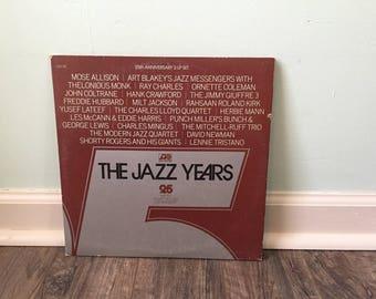 The Jazz Years 25th Anniversary 1948-1973 vinyl record