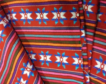5 yards x .87 yard Mexican FABRIC with different embroidery (cambaya)