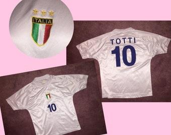 T shirt vtg italian soccer size s/m