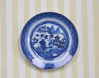 Vintage Canton Plate