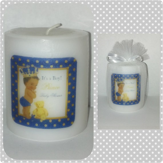 baby shower personalized baby shower favors candle favors baby