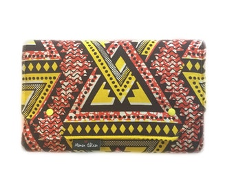 Funky brown Travel changing mat