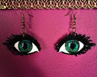 eye fsl earrings .
