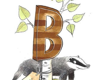Badger & Bee
