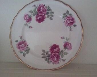 "Rosalyn Bone China salad plate ""Queens"""