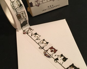 Cute Cat Washi Tape WT1090CT