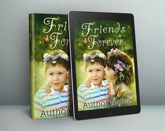 Premade childrens Book Cover design for self publishing authors
