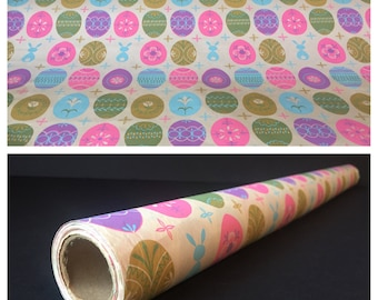 Vintage Wrapping Paper, Easter Wrapping Paper, Gift Wrap, Children's Wrapping Paper, Vintage Paper, Holiday Gift Wrap