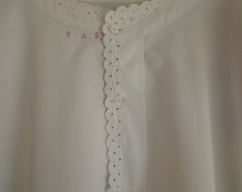 Victorian Cotton Nightgown/ Nightdress