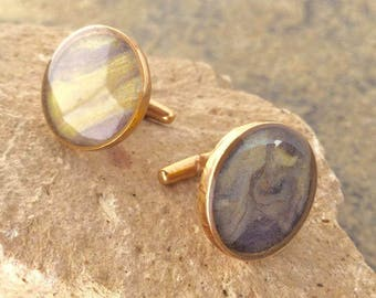 Voyager 1, science cuff links, scientific cufflinks, Jupiter, cuff link set, Voyager, space, accessories, gifts for men, space nerds, space