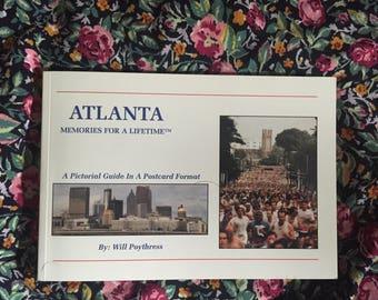 Atlanta post card book