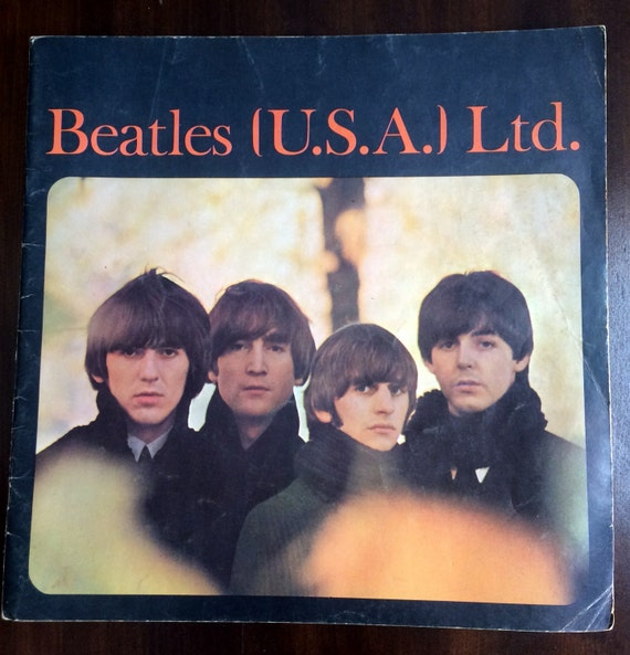 Beatles fan book tour guide 1965