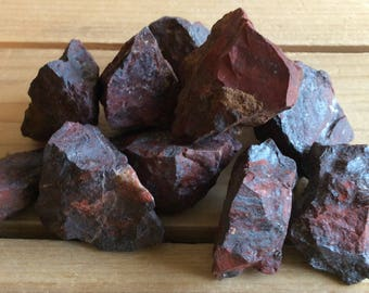 Brecciated Jasper Natural Stones, Raw Stones, Healing Stones, Healing Crystal,Chakra Stones, Spiritual Stone, Reiki Infused