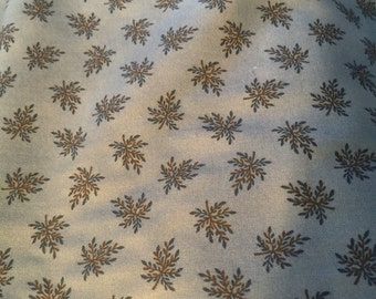 Remnant Civil War Fabric Union Blues Moberly 8292 13 -1870-1900 Perennial Blue by Barbara Brackman for Moda F150 100% Quality Cotton