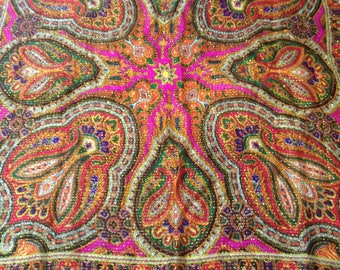 Shawl wool. Russia