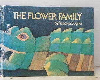 The Flower Family, 1975, Yutaka Sugita, vintage kids book