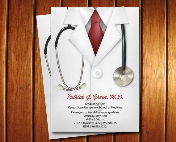 Doctor Invitation | Medical School Doctor Graduation ...