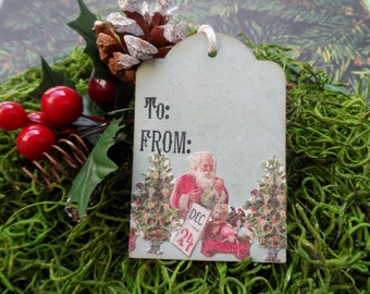 Christmas Tags, Gift Tags, Holiday Tags, To and From Christmas Tags