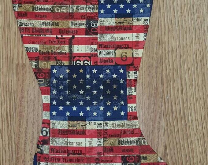 Flag Christmas Stocking