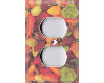 Fiesta Collection - Chili Peppers Outlet Cover