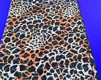 ANIMAL PRINT MUSLIN Fabric