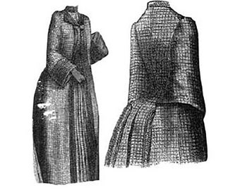 AG1258  - 1888 Spring Raglan Sewing Pattern by Ageless Patterns