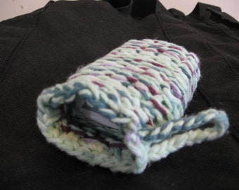Cotton drawstring soap bags - See listing for details